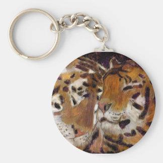 tiger love key chain