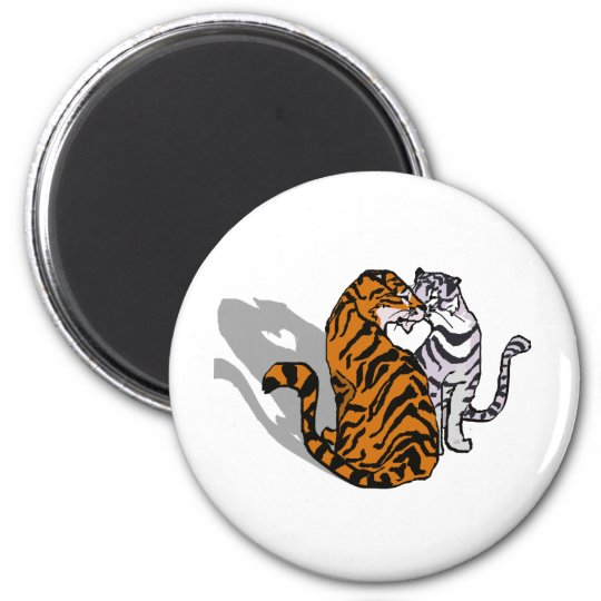 Tiger Love Magnet