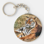 Tiger Lovers Art Gifts Keychain