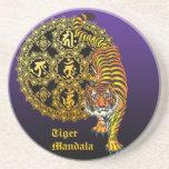 Tiger Mandala2 コースター