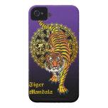 Tiger Mandala2 iPhone 4 Case-Mate ケース