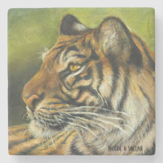 Tiger Marble Coaster