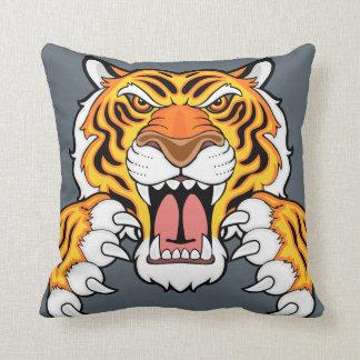 Tiger mascot cushion