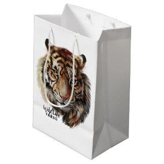 """""""Tiger"""" Medium Gift Bag"""