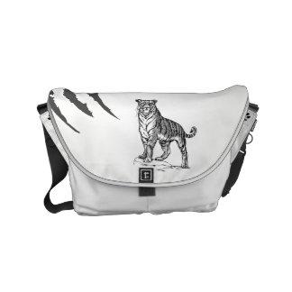 Tiger Messenger Bag by SGD Design