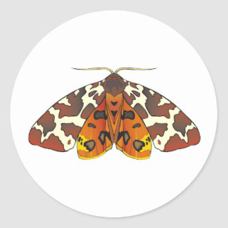 Tiger Moth Stickers