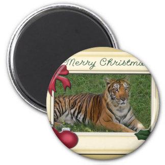 Tiger Nini-c-147 copy 6 Cm Round Magnet