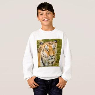 tiger on Kids' Hanes ComfortBlend Sweatshirt