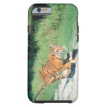 Tiger on path tough iPhone 6 case