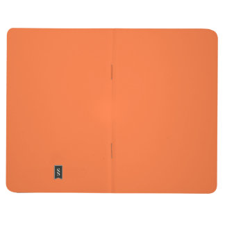 Tiger Orange Personalized Trend Color Background Journal