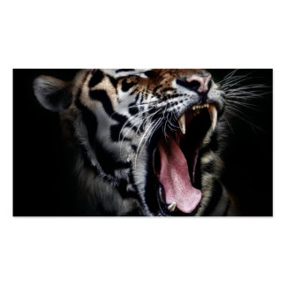 Tiger Pack Of Standard Business Cards