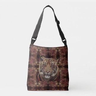 Tiger Paisley Crossbody Bag