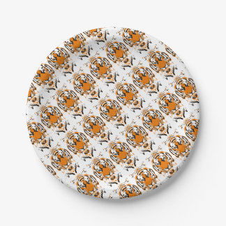 Tiger Paper Plate