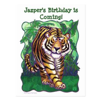 Tiger Party Center Postcard