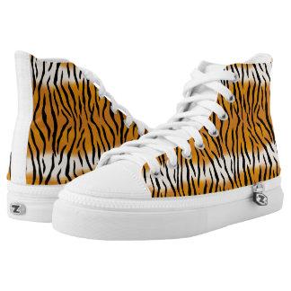 Tiger Pattern High Tops