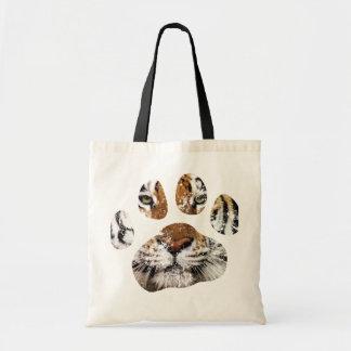 Tiger paw bag