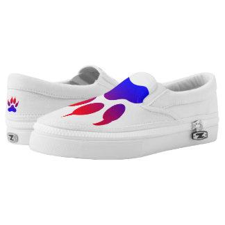 Tiger Paw Custom Zipz Slip On Shoes,  Men & Women Printed Shoes