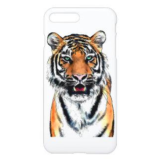 Tiger pen-ink iPhone 7 plus case