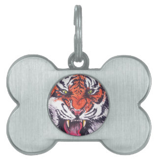 TIGER PET ID TAG