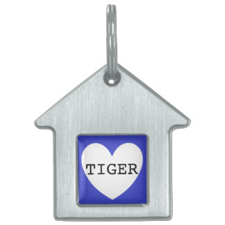 ❤️  TIGER pet tag by DAL