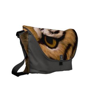 Tiger Photo Messenger Bag