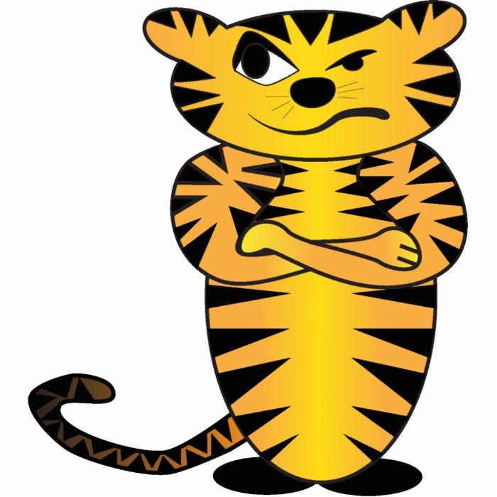 Tiger Photo Sculpture Magnet