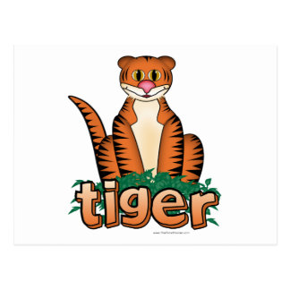TIGER! POSTCARD