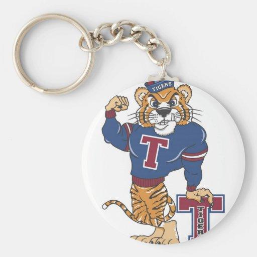 Tiger Pride Key Chain