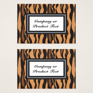 Tiger Print 2/S Custom Business/product card