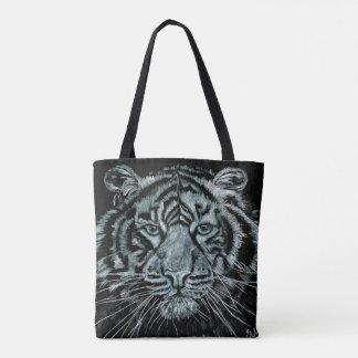 Tiger print bag