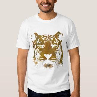 Tiger Print (Dark Shirt) Kids Basic Shirt