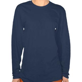 Tiger Print (Dark Shirt) Ladies Basic Shirt