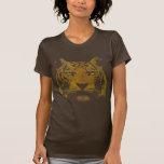 Tiger Print (Dark Shirt) Ladies Basic Tees