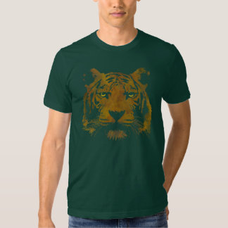 Tiger Print (Dark Shirt) Men's Basic T Shirt