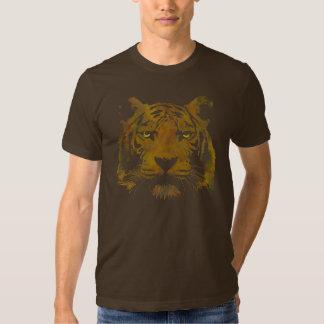 Tiger Print (Dark Shirt) Men's Basic Tshirt