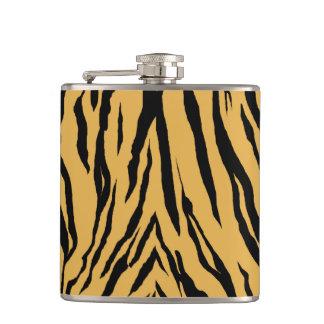 Tiger Print Flask
