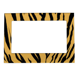Tiger Print Magnetic Photo Frame