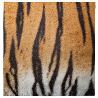Tiger Print Napkins