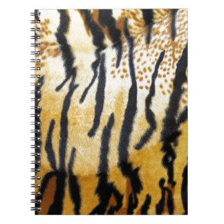 Tiger Print Notebooks