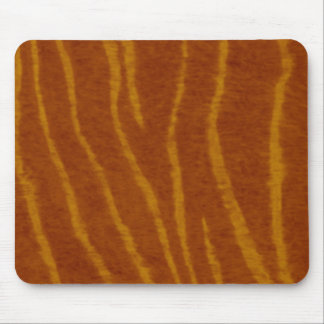 Tiger Print Pattern Mouse Pad