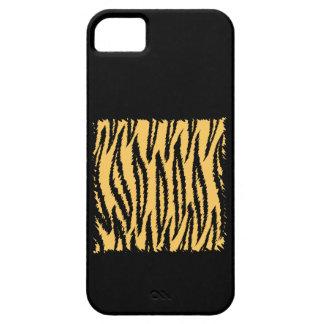 Tiger Print Pattern. Orange and Black. iPhone 5 Case