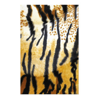 Tiger Print Personalized Stationery
