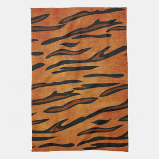 TIGER PRINT TEA TOWEL