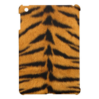 Tiger print, tiger skin super natural wild animal iPad mini case