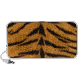 Tiger print, tiger skin super natural wild animal iPod speaker