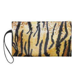 Tiger Print Wristlet