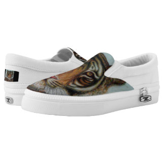 """Tiger"" Printed Shoes"