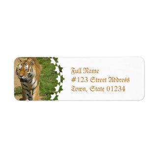 Tiger Prowl Mailing Labels