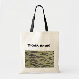 Tiger rawr! tote bag