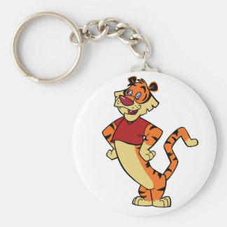 Tiger - Red Mascot Keychain